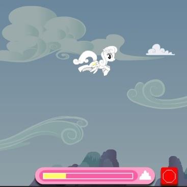 Литл Пони ловим облака