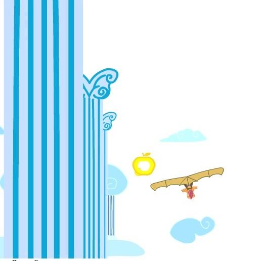 Литл Пони полёт на дельтаплане