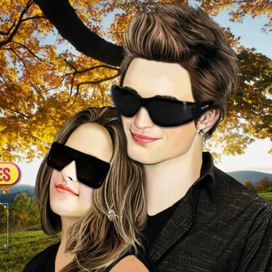 Сумерки Белла и Эдвард влюблённая пара