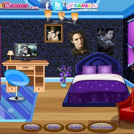 Укрась комнату в стиле Сумерок