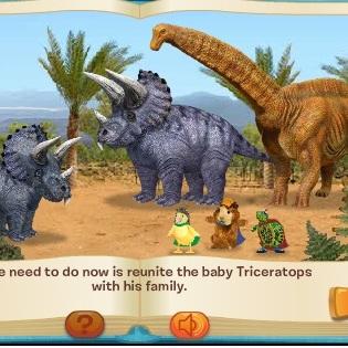 Чудо зверята спасение детёныша динозавра