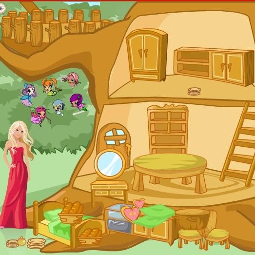 Уютный домик для ПопПикси