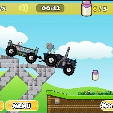 Том и Джерри трактористы