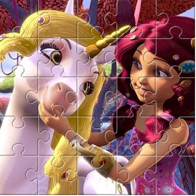 Миа и Я головоломка