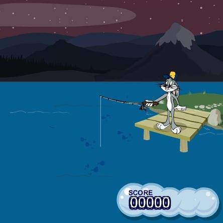 Багз Банни рыбак