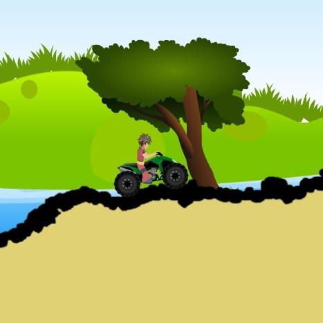 Бакуган на квадроцикле