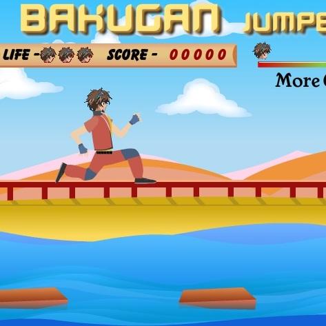 Бакуган прыгун