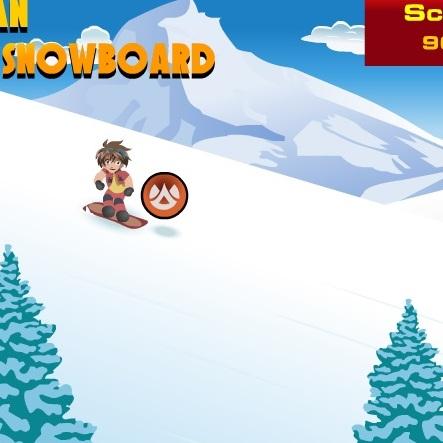 Бакуган сноубордист