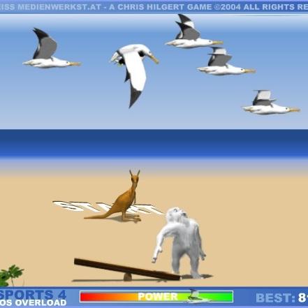 Полёт Пингвина на альбатросе