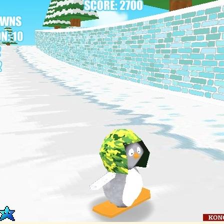 Пингвинёнок снобордист