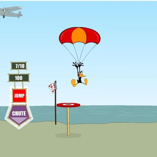 Весёлые мелодии: Даффи Дак парашютист