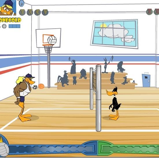 Весёлые мелодии: Даффи Дак волейболист