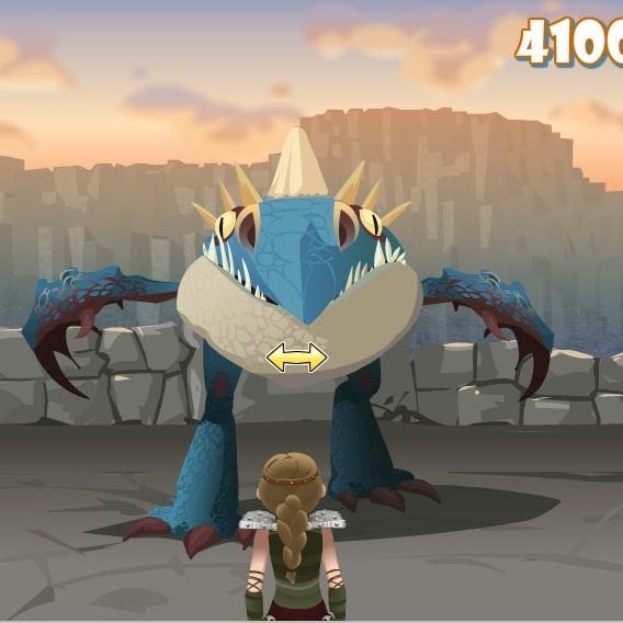 Как приучить дракона атака Змеевика