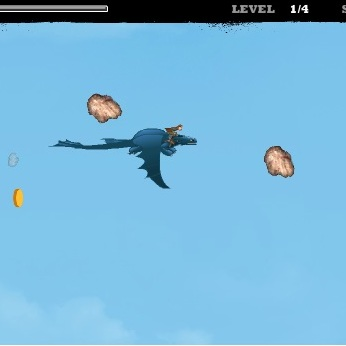 Как приучить дракона школа полётов