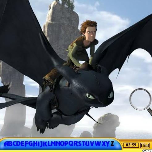 Как приучить дракона в поисках букв