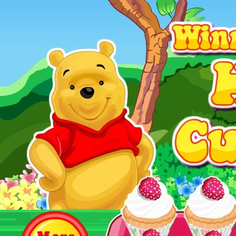 Винни Пух медовые кексы