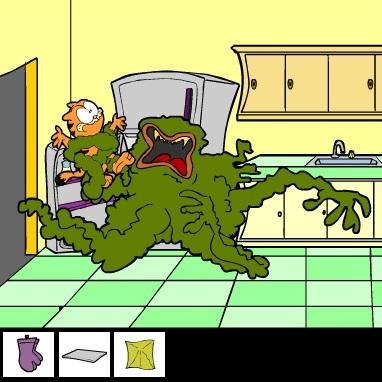 Гарфилд побег из дома