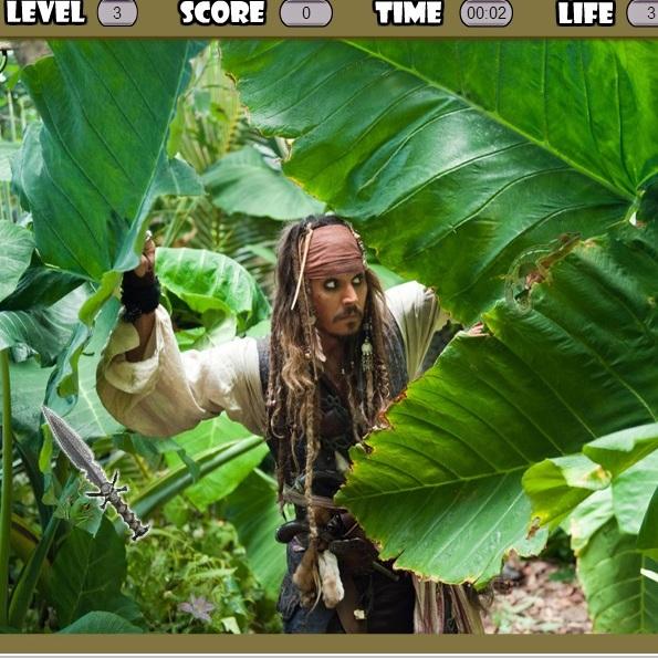 Пираты Карибского моря: поиск предметов
