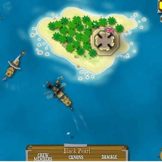 Пираты Карибского моря: Атакующий корабль