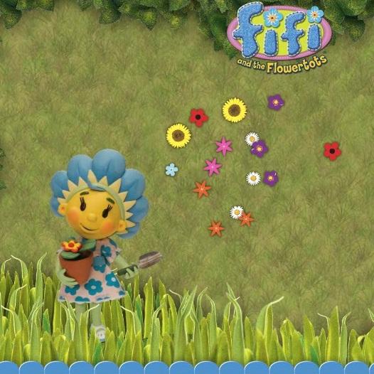 Фифи на цветочной поляне