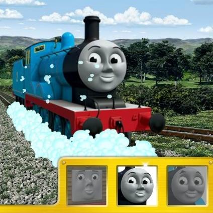 Паровозик Томас: мойка
