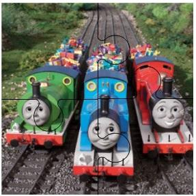 Паровозик Томас: головоломка