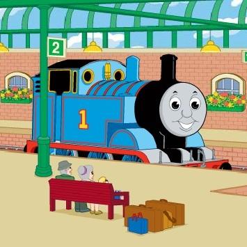 Паровозик Томас: доберись до жд вокзала