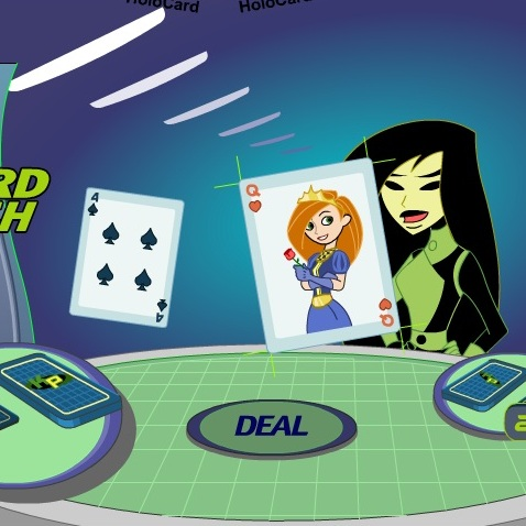 Ким Пять-с-Плюсом игра в карты