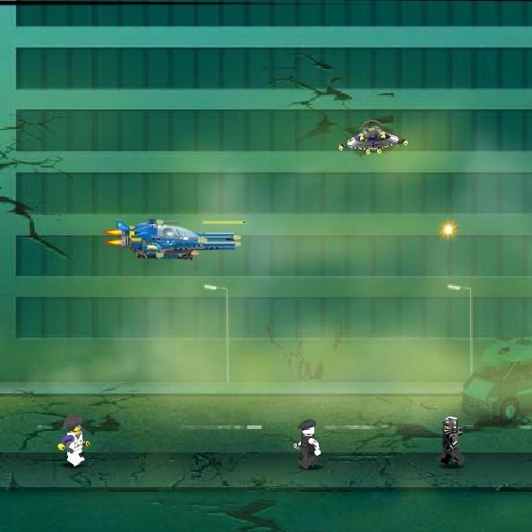 Лего Защити город от инопланетян