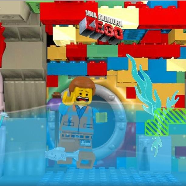 Лего Фильм в подводной лодке
