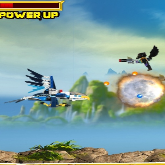 Воздушная битва Лего Чима