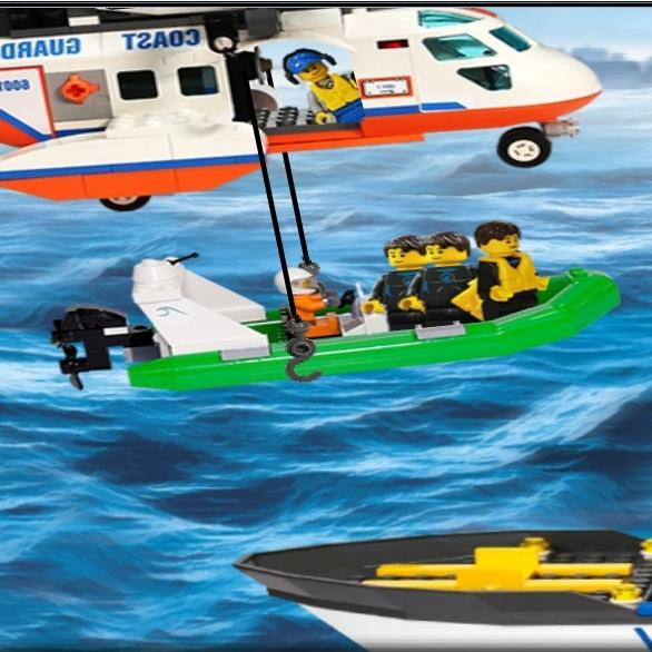 Спасатели Лего