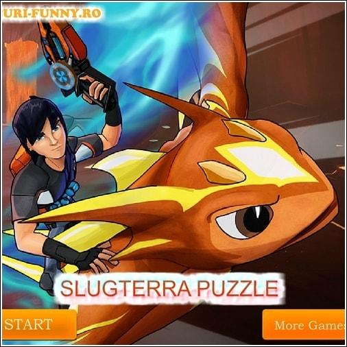 Игра пазл: Слагтерра и летающий дракон