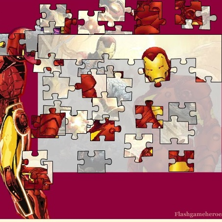 Пазл костюм Железного человека