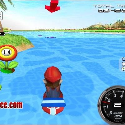 Марио гонка на скутере