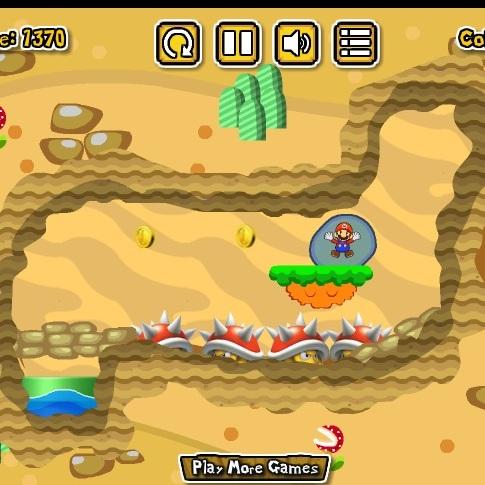 Марио побег в водном пузыре