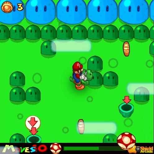 Марио грибной тур