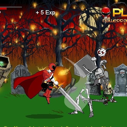 Могучие Рейнджеры кровь хэллоуина